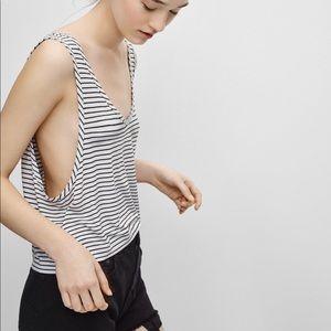 Aritzia Kendall Tank Top (striped)